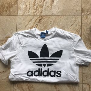 Adidas White T shirt